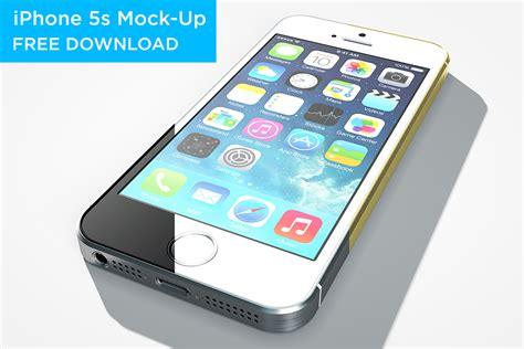 iphone 5s for free iphone 5s mock up free on behance