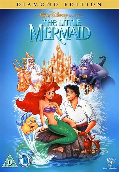 Mermaid Dvd Disney Diamond Edition Walt Covers