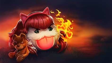 league  legends poro annie wallpapers hd desktop