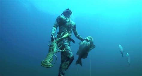 record setting spearfishing freedive  florida