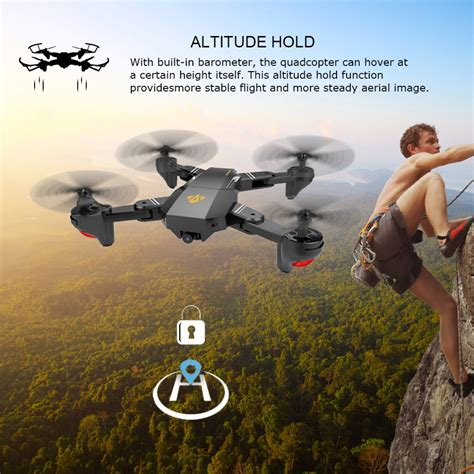 visuo xshw wifi foldable drone p camera