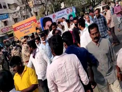 TDP leader Devineni Uma detained on way to protest in Andhra