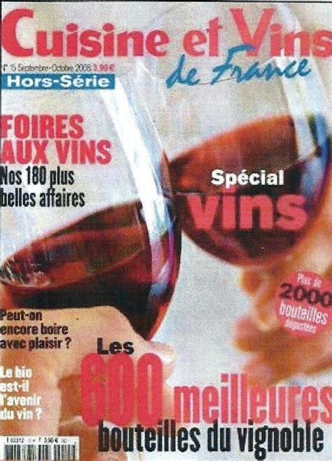 cuisine et vin de hors serie cuisine et vins de hors série septembre 2008