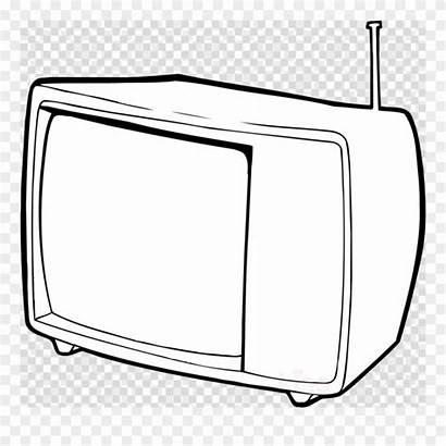 Tv Clipart Outline Television Clip Hat Transparent