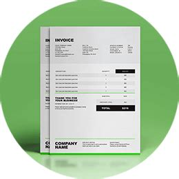 invoice templates sample invoices  word excel