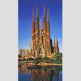 Gaudi Sagrada Familia Ceiling | 736 x 1349 jpeg 249kB