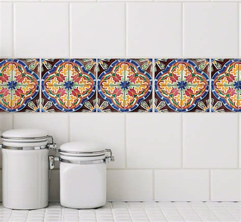 tile tattoos kitchen tile stickers stylish tattoos for your bath and kitchen 2777