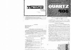 Quartz 406 Service Manual Download  Schematics  Eeprom