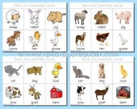 Free Printable Farm Animal Cards