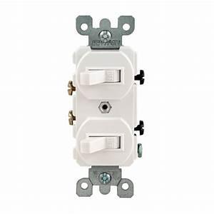 Leviton Double Switch Wiring Diagram