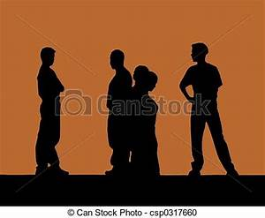 Stock Photography of Drama - Silhouettes of student ...