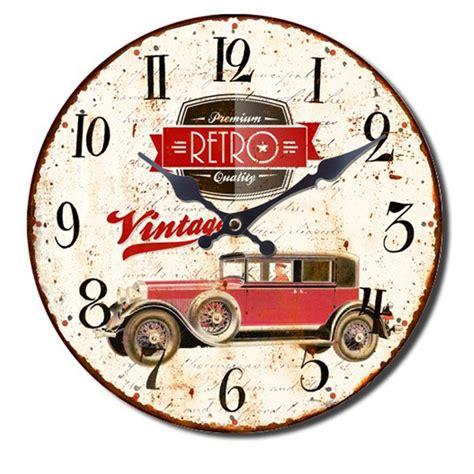 horloge cuisine vintage horloge murale cuisine vintage retro oldtimer voiture