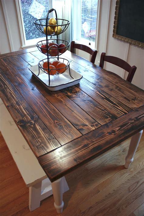 farmhouse kitchen tables new project diy farmhouse table vintage chic redux
