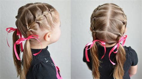 topsy tail pigtails qs hairdos youtube