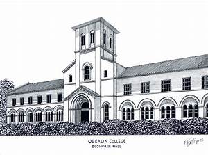 Oberlin College Drawing by Frederic Kohli