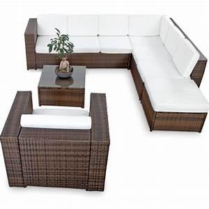 Rattan Lounge Set Braun : polyrattan lounge set g nstig lounge set polyrattan kaufen ~ Bigdaddyawards.com Haus und Dekorationen