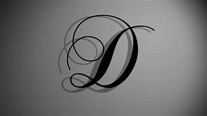 """After Effects template - Letter """"D"""" of the Chopin ..."""