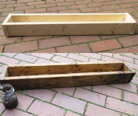 Geöltes Holz Mit Lasur Streichen by Aus Neu Mach Alt Diy Basteln Mit Holz Holz Streichen