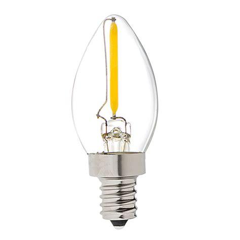 vintage led night light bulb c7 led candelabra bulb w