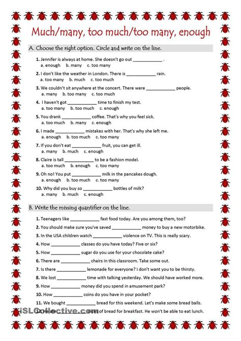 7 best quantifiers images on printable