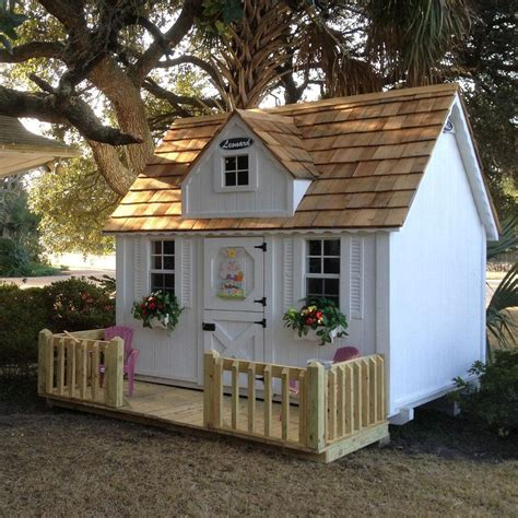 Children's Wooden Playhouses & Forts  Leonard Buildings