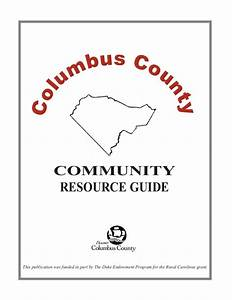 Columbus County Community Resource Guide