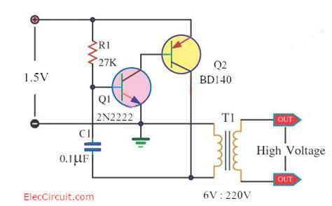 How Make Inverter Circuit Eleccircuit