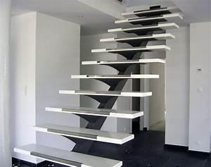 37 best images about nos escaliers on pinterest metals With deco maison avec poutre 14 escalier poutre centrale mezzanine moderne escalier