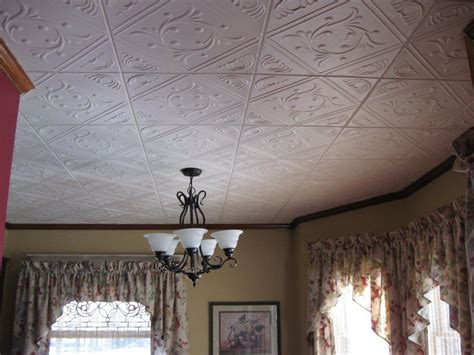 ceiling tiles installed  clyde ohio decorative ceiling