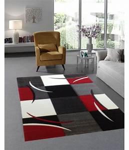 Teppich Rot Schwarz : teppich mit konturenschnitt karo muster rot schwarz ~ Eleganceandgraceweddings.com Haus und Dekorationen