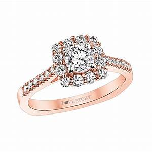hurst diamonds love story 309 13354 With love story wedding rings