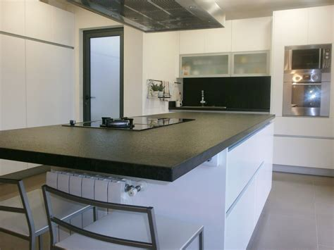granito negro kitchen cocinas marmol modelos de
