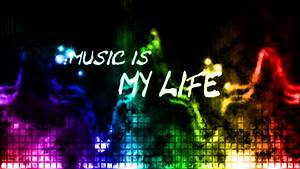 Music Is My Life Wallpaper - WallpaperSafari