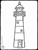 Leuchtturm Lighthouse Phare Colouring Vuurtoren Dessin Kiddicolour Ausmalbilder Zum Kleurplaat Kiddimalseite Kiddicoloriage Faro Tekening Water Ausmalen Ausdrucken Drawing Malvorlagen Colorear sketch template