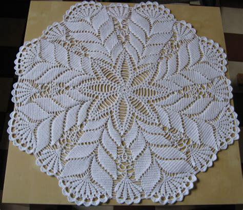 modeles napperons au crochet gratuit exemple modele napperon au crochet