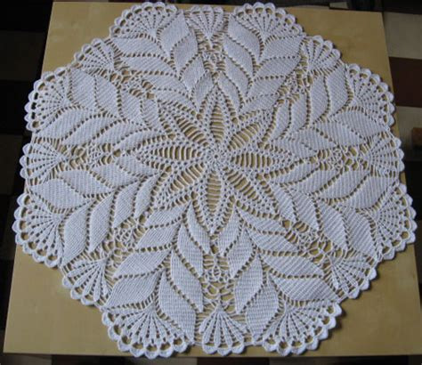 exemple modele napperon au crochet