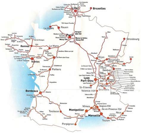 foto de Infos sur : carte de france tgv Arts et Voyages