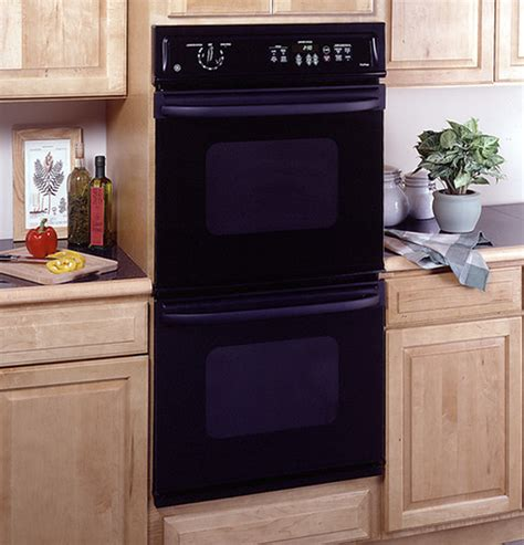 ge  electric double wall oven   cleaning upper
