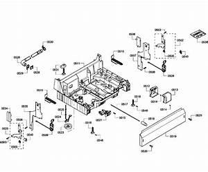 Bosch Model She43p02uc  64 Dishwasher Genuine Parts