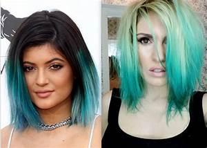 Turquoise Balayage Hair