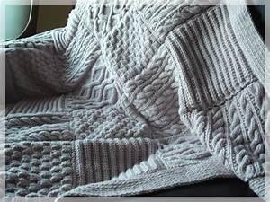 Plaid En Grosse Maille : plaid au tricot laine et tricot ~ Teatrodelosmanantiales.com Idées de Décoration