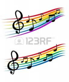 Staff Music Notes Clip Art