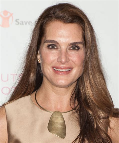 Brooke Shields Hairstyles for 2018   Celebrity Hairstyles