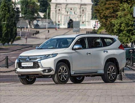New 20182019 Mitsubishi Pajero Sport  The Start Of Sales