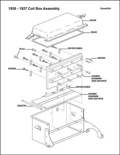 1926 1927 Model T Ford Wiring Diagram by Model T Ford Forum 1925 Late And 1926 1927 Coil