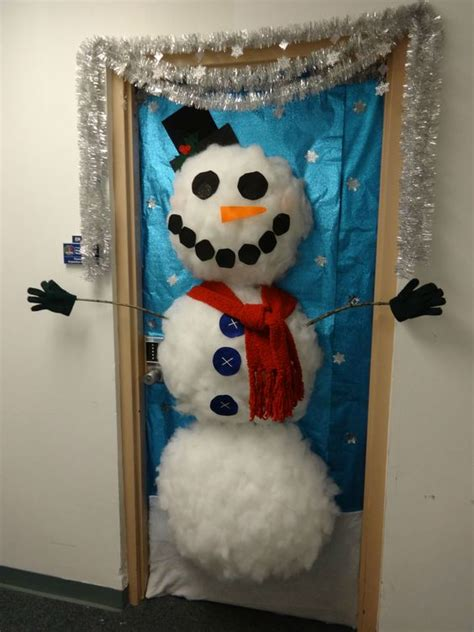 office door decoration contest entry styrofoam cup