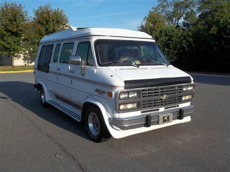 Find Used 1993 Chevrolet High Top Conversion Van, 109 K