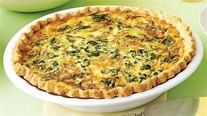 Spinach and Gruyere Quiches Recipe & Video Martha Stewart