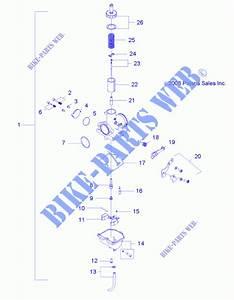 Engine  Carburetor R12va17aa  Ac  49atvcarb09rzr170  For