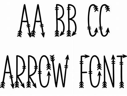 Font Arrow Cricut Sofontsy Fontsy Types App